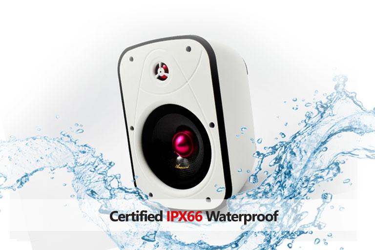 Ruby Ipx66 waterproof wall mount speaker PR3