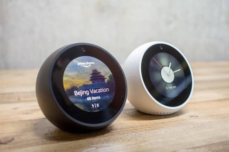 Smart speakers from Amazon Echo Series Echo Spot