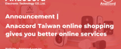 Anaccord Taiwan online shopping gives you better online services