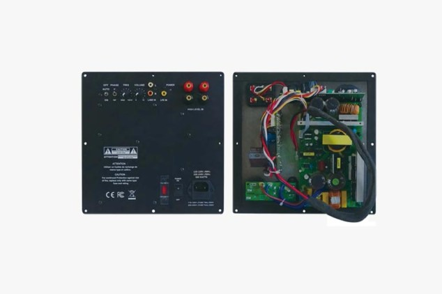 SA-500 Class-D Switch Power Audio SA Series