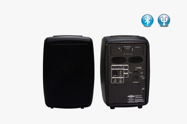 T-200B PA Speakers System with Advance Auto-Scan