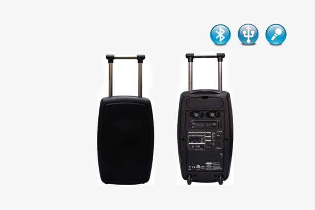 T-320B Bluetooth PA Speakers System with Wheels